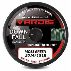 Поводковый материал Vardis Tackle DOWNFALL FS Semi-Stiff Skinline 20m 25lb Moss Green