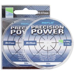 Леска Preston Innovations REFLO® PRECISION POWER™ - 50m / 0.21mm / 3.800kg
