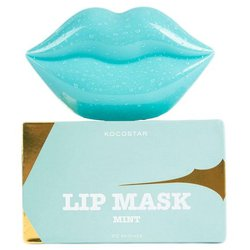 Kocostar Патч для губ Lip Mask Mint Green Grapes Flavor 20 шт