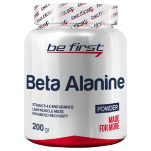 Аминокислота Be First Beta Alanine Powder (200 г)