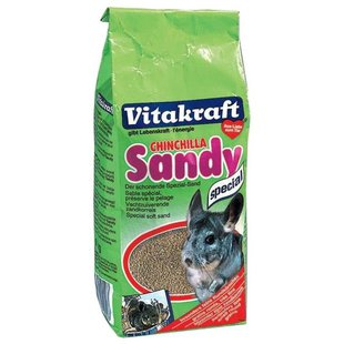 Песок Vitakraft Chinchilla Sandy 1 кг