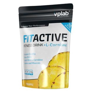 Изотоник VP Laboratory FitActive Fitness Drink + L-Carnitine (500 г)