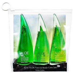 Набор Holika Holika Jeju aloe face & body care