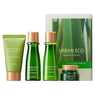 Набор The Saem Urban Eco Harakeke Travel 4 Kit