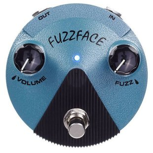 Dunlop педаль FFM3 Jimi Hendrix Fuzz Face Mini Distortion