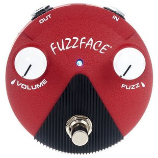 Dunlop педаль FFM6 Band of Gypsys Fuzz Face Mini Distortion