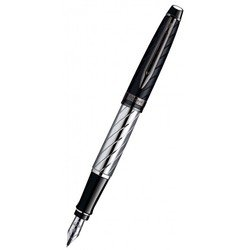 Ручка перьевая Waterman Expert 3 Precious CT Black перо F (S0963290)