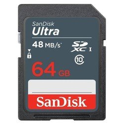 Карта памяти SDXC SanDisk Extreme 64Gb Class10 UHS-I (SDSDUNB-064G-GN3IN)